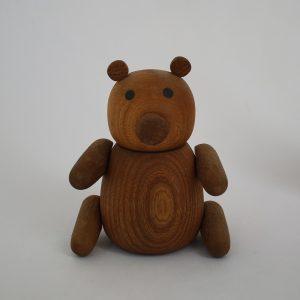 خرس مگنت دار چوبی